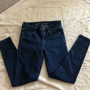 American Eagle High Rise Skinny Jean size 4